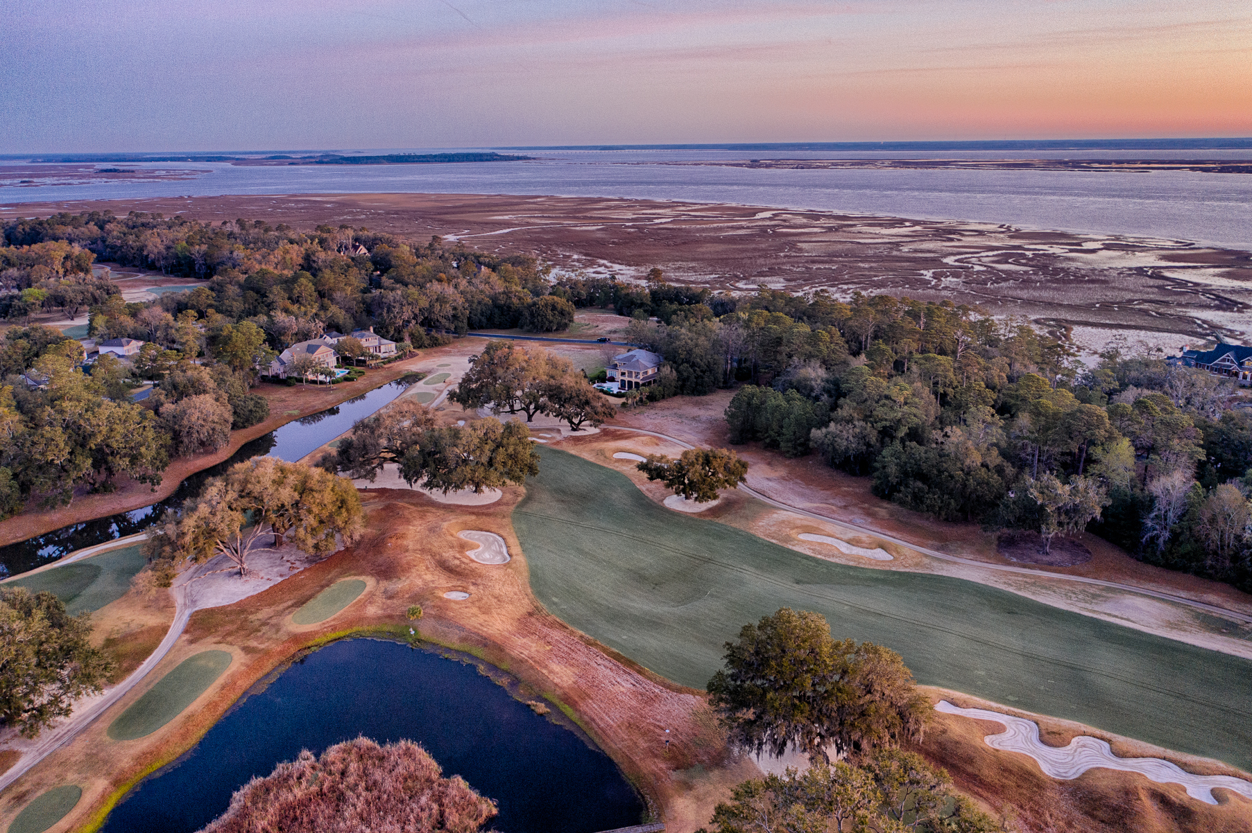 Colleton River Aerial