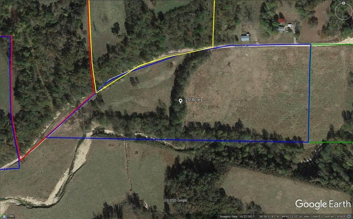 Land for Sale at 17788 398 Road Jay, Oklahoma 74346 United States