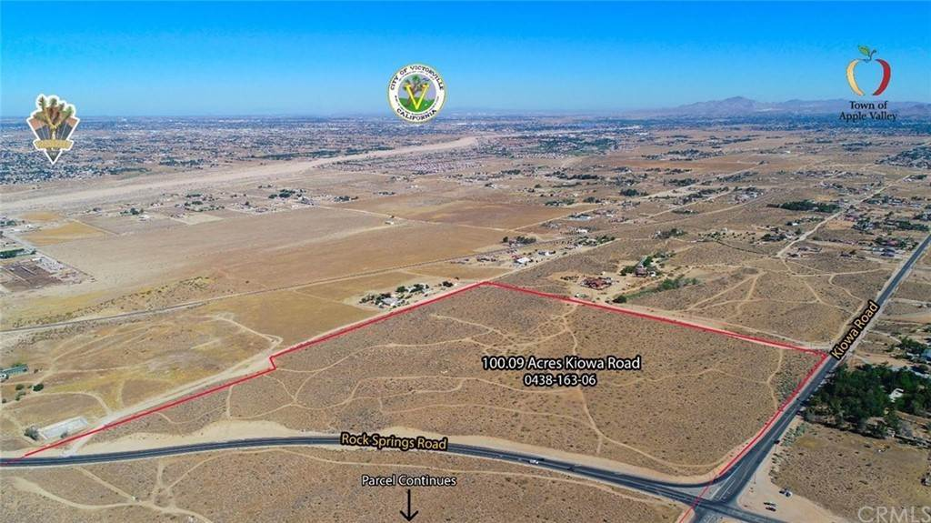 Land for Sale at Kiowa Apple Valley, California 92308 United States