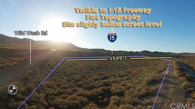 Land for Sale at Wild Wash Road Oro Grande, California 92368 United States