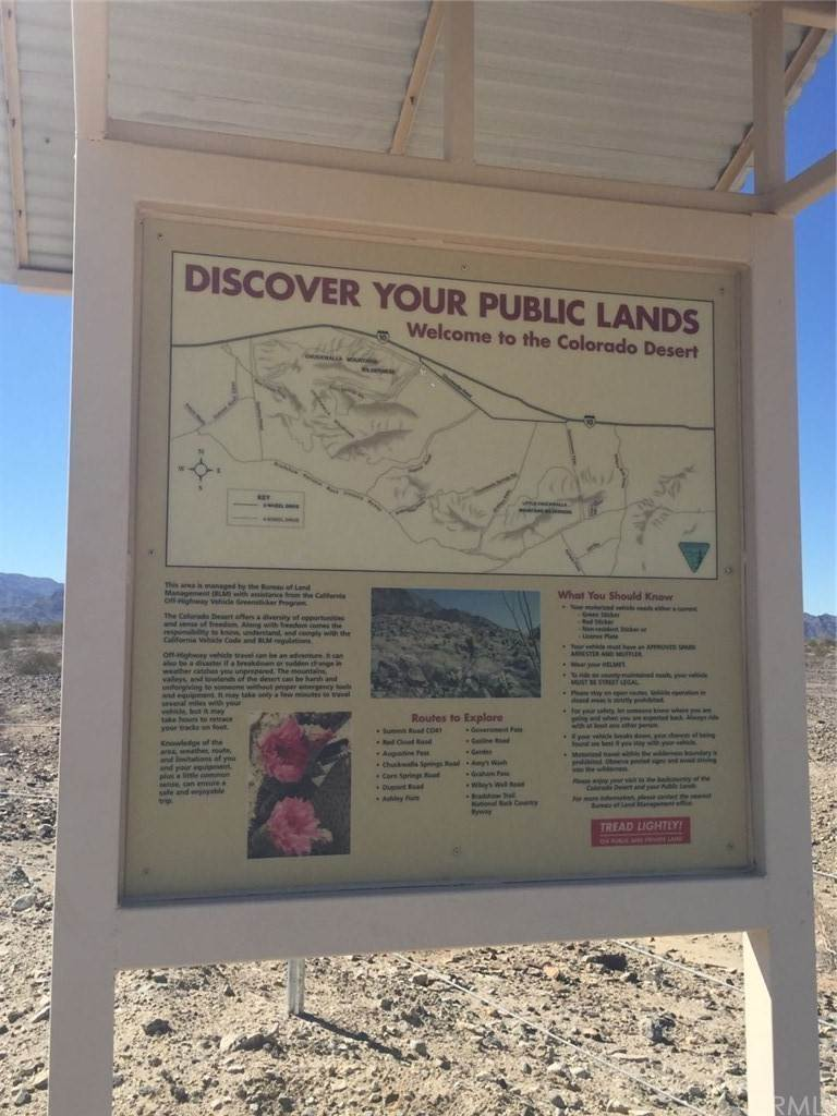 Land for Sale at Chuckwalla Valley Road Desert Center, California 92239 United States