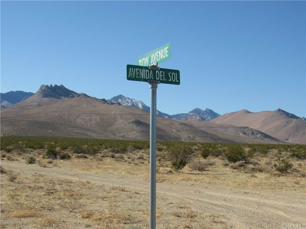 Land for Sale at 064-133-20-00-3 Bow Avenue 064-133-20-00-3 Bow Avenue Inyokern, California 93527 United States