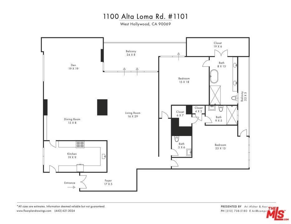 26. Residential Lease for Sale at Alta Loma Road West Hollywood, California 90069 United States
