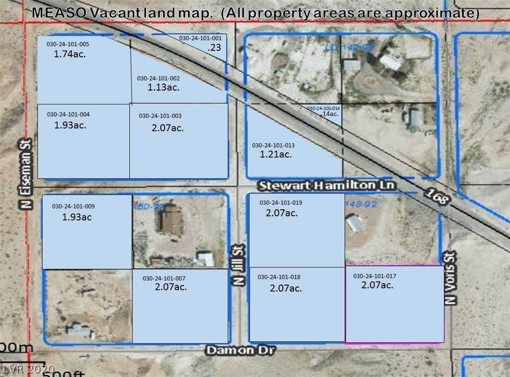 Land for Sale at STEWART HAMILTON Lane Moapa, Nevada 89025 United States