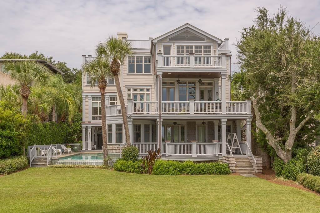 Residential for Sale at 1909 Dixon Lane St. Simons Island, Georgia 31522 United States
