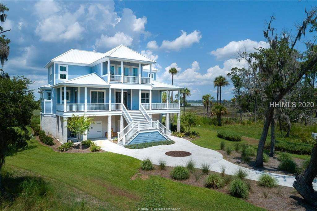 Single Family Homes for Sale at 34 Cedar Cove Lane Daufuskie Island, South Carolina 29915 United States