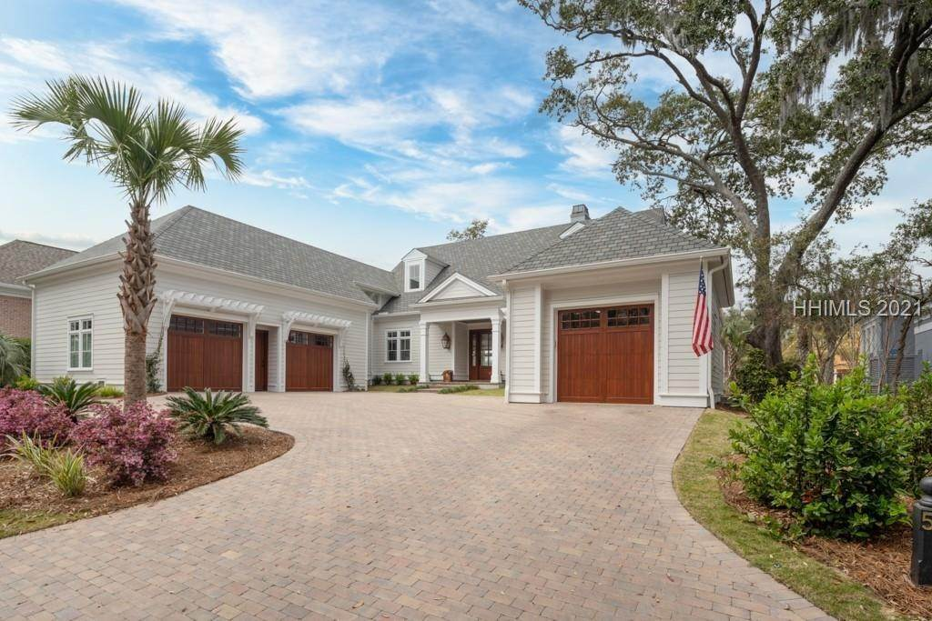 Single Family Homes for Sale at 56 Harbour Passage Hilton Head Island, South Carolina 29926 United States