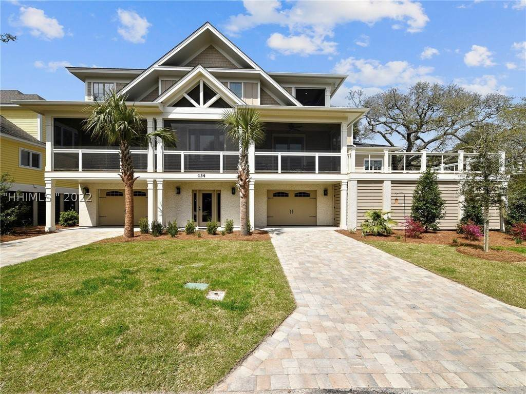 Single Family Homes for Sale at 134 Dune Lane Hilton Head Island, South Carolina 29928 United States