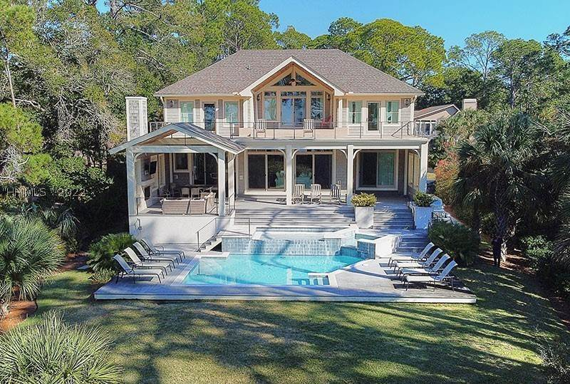 Single Family Homes for Sale at 8 Gadwall Road Hilton Head Island, South Carolina 29928 United States