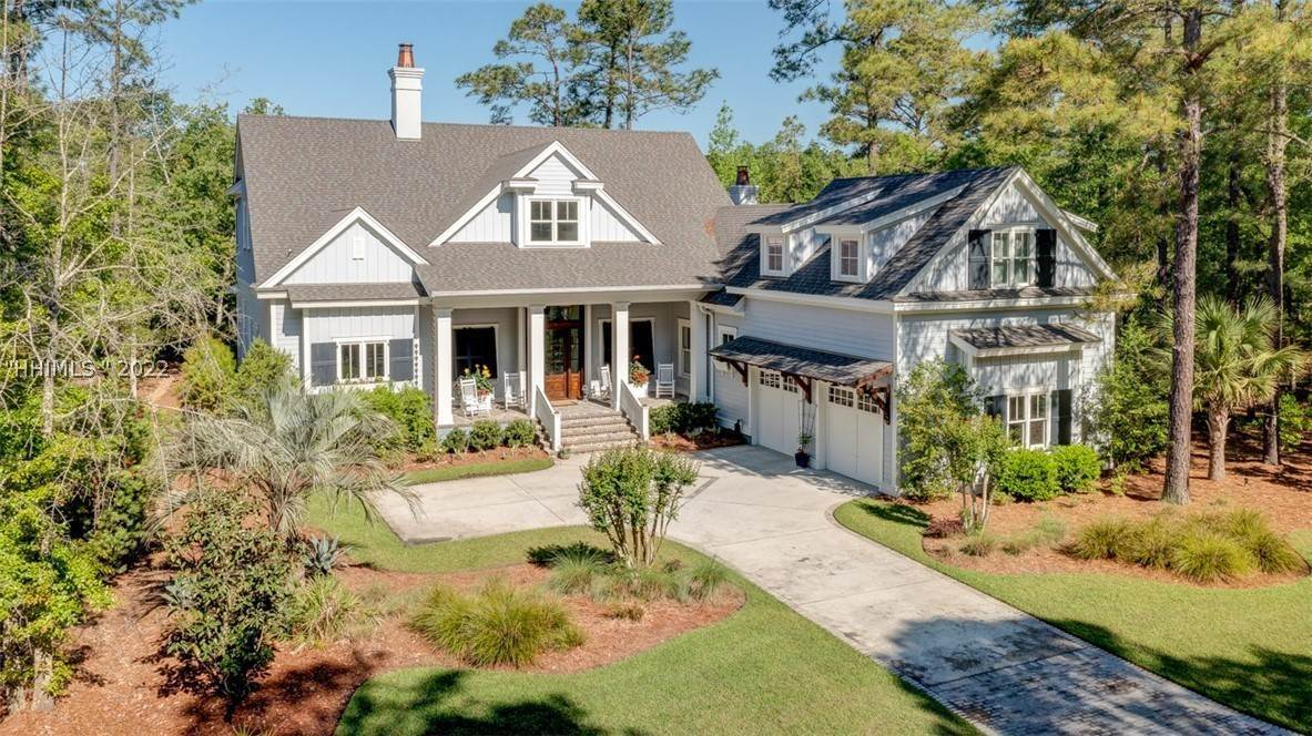 Single Family Homes for Sale at 19 Pondhawk Road Bluffton, South Carolina 29909 United States