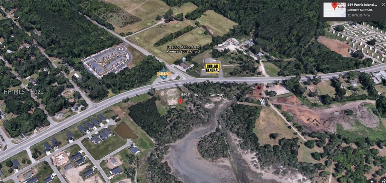 Commercial for Sale at 559 Parris Island Gateway Port Royal, South Carolina 29935 United States