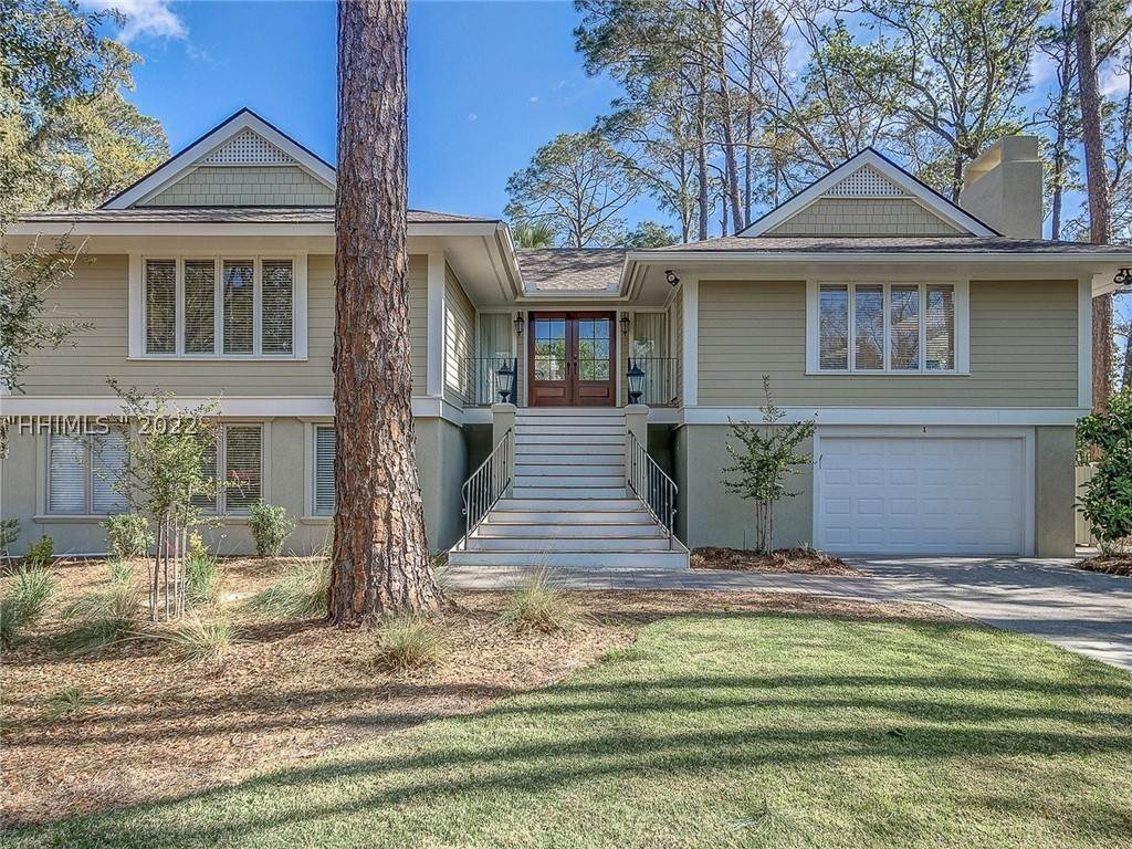 Single Family Homes for Sale at 1 Catboat Hilton Head Island, South Carolina 29928 United States