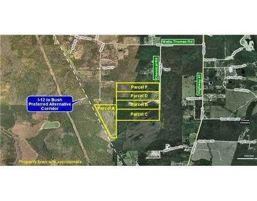 Land for Sale at 78043 CHEMICAL Road 78043 CHEMICAL Road Bush, Louisiana 70431 United States