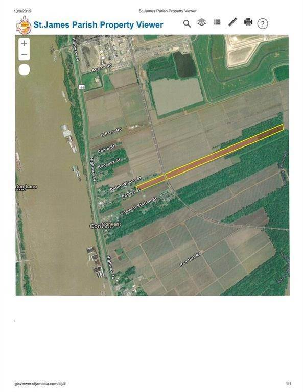 Land for Sale at TBD HAYDEL Street Convent, Louisiana 70723 United States