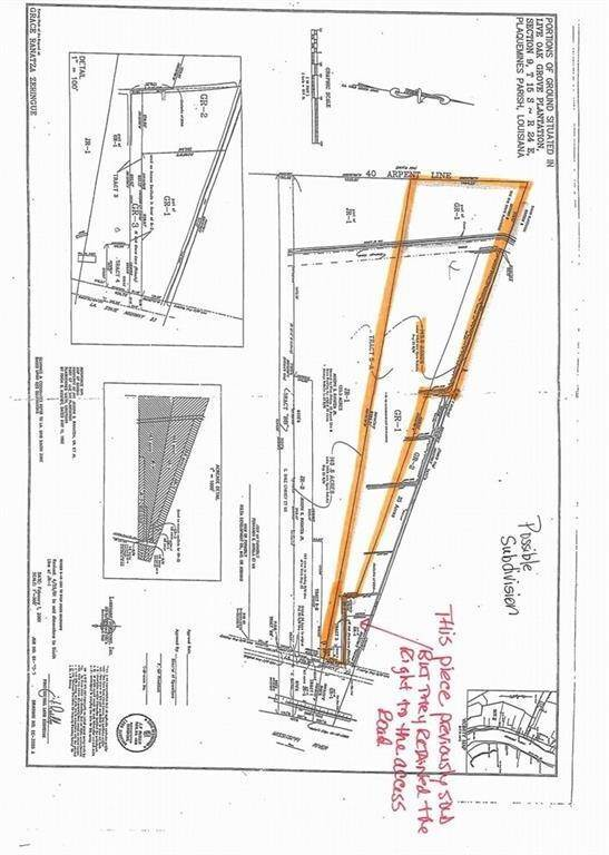 Land for Sale at 137 W OAK GROVE Lane Belle Chasse, Louisiana 70037 United States