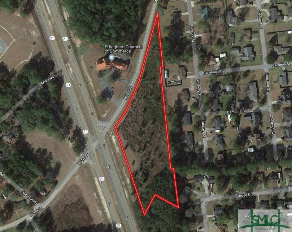 Land for Sale at Highway 21 & West 3rd Street Springfield, Georgia 31329 United States