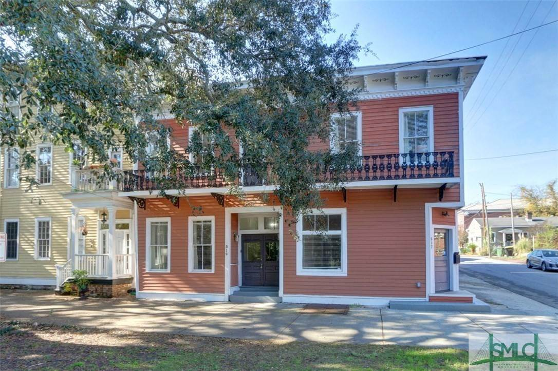 Residential Income for Sale at 519 E Broad Street 519 E Broad Street Savannah, Georgia 31401 United States