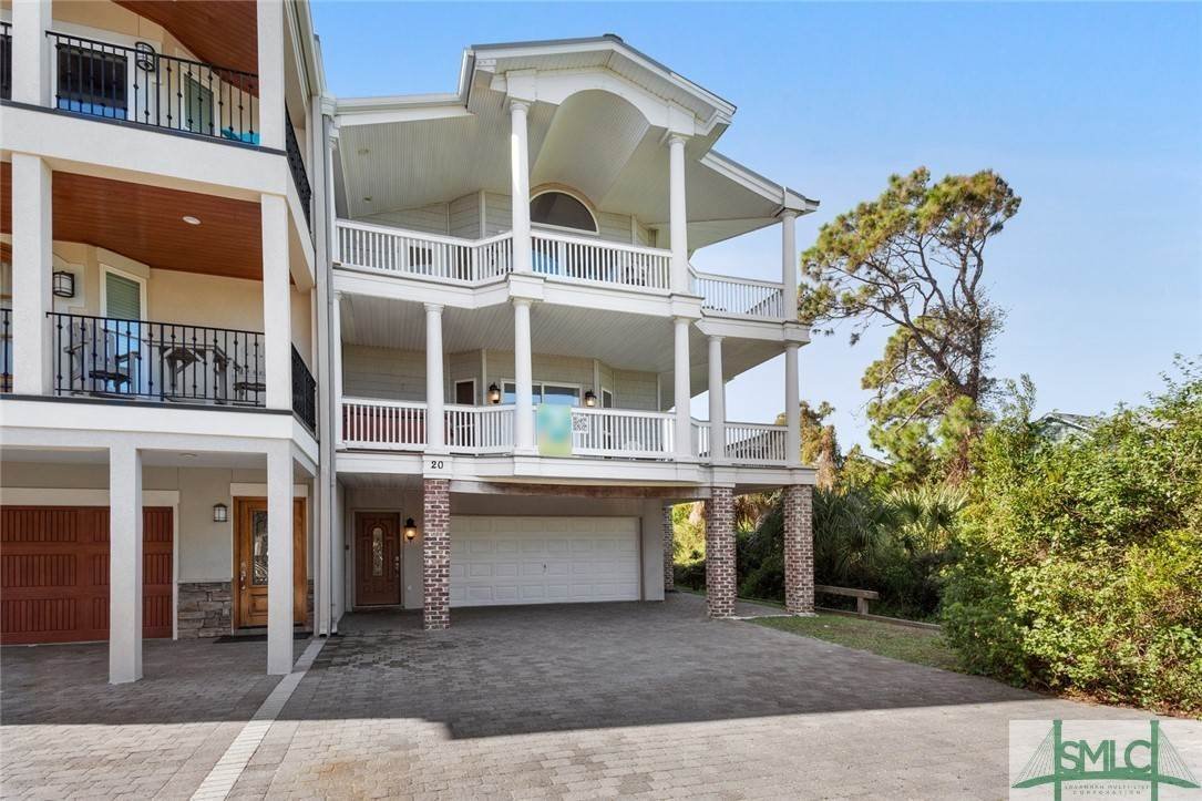 Property en 20 Oceanview Court 20 Oceanview Court Tybee Island, Georgia 31328 Estados Unidos