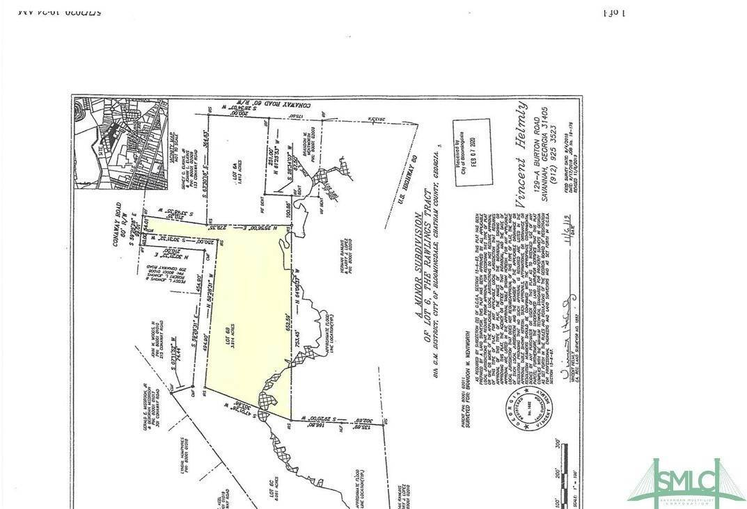 Land for Sale at 0 Conaway Road 0 Conaway Road Bloomingdale, Georgia 31302 United States