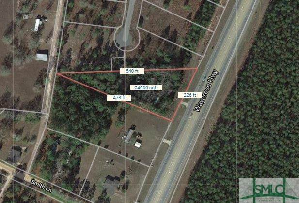 Land for Sale at 5060 Waycross Highway 5060 Waycross Highway Jesup, Georgia 31545 United States