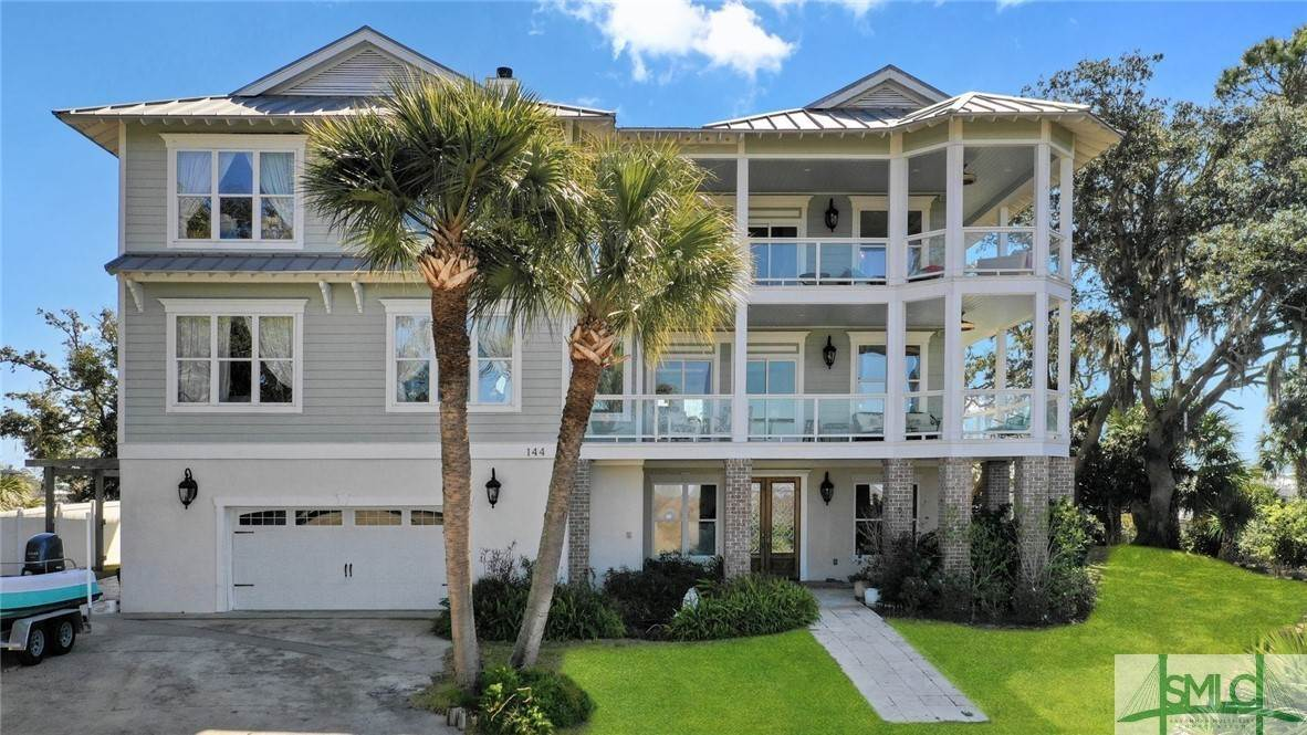 Residential for Sale at 144 San Marco Drive 144 San Marco Drive Tybee Island, Georgia 31328 United States