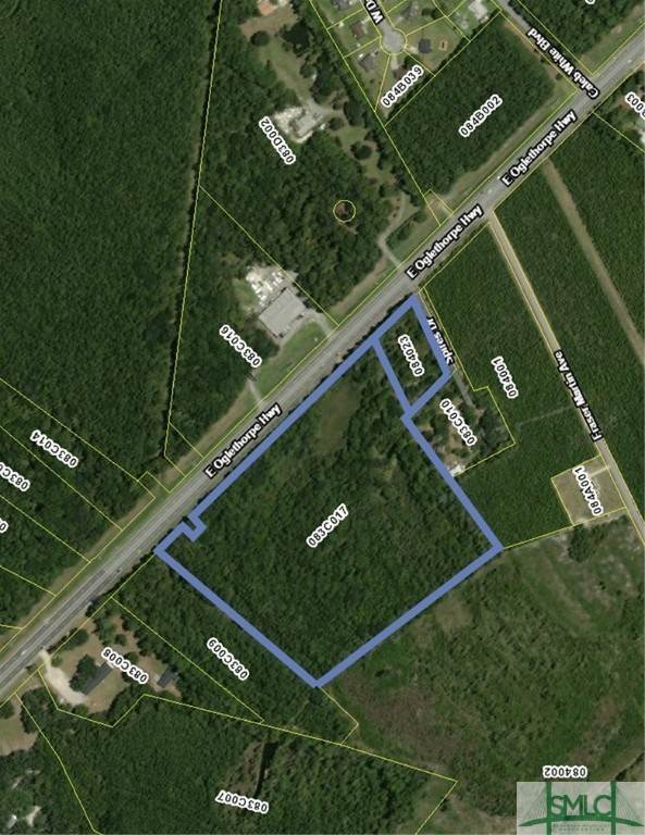 土地,用地 为 销售 在 1.41/19.4 ACRES E Oglethorpe Highway 1.41/19.4 ACRES E Oglethorpe Highway Flemington, 乔治亚州 31309 美国