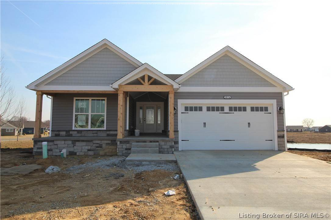 Single Family Homes for Sale at 3816 - Lot 140 Butternut Circle Jeffersonville, Indiana 47130 United States
