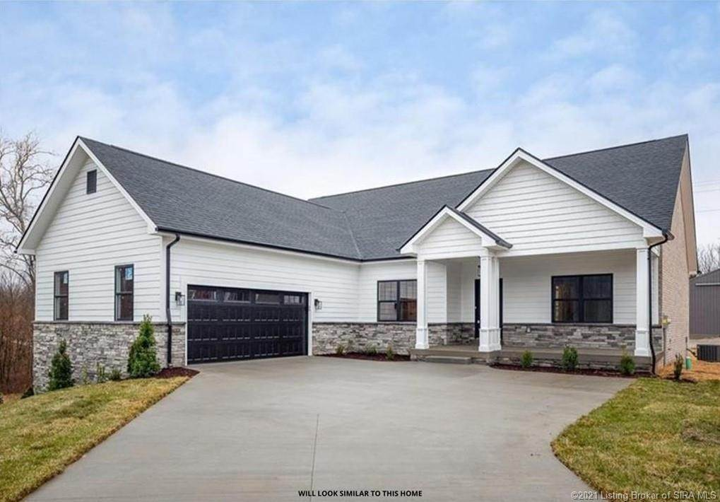 Single Family Homes 为 销售 在 3038 Masters Drive (Lot #1) Floyds Knobs, 印第安纳州 47119 美国