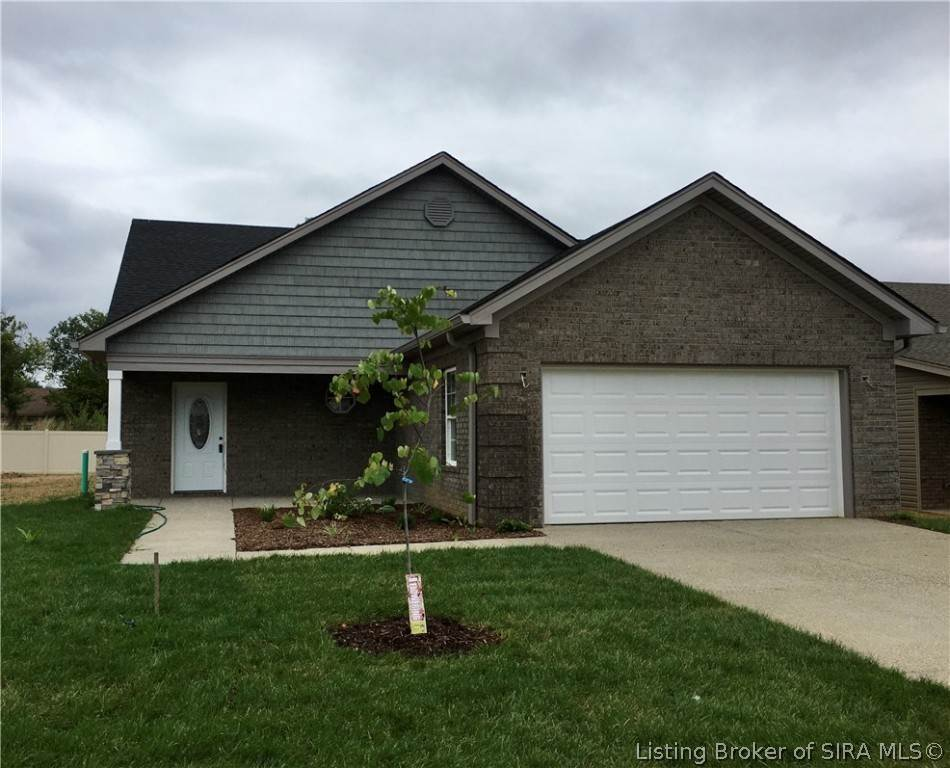 Single Family Homes for Sale at 8017 Vista (Lot 9 Scm) Place Charlestown, Indiana 47111 United States