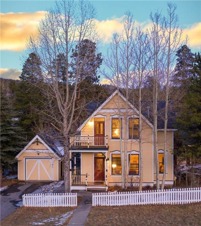 Single Family Homes for Sale at 312 N French Street Breckenridge, Colorado 80424 United States