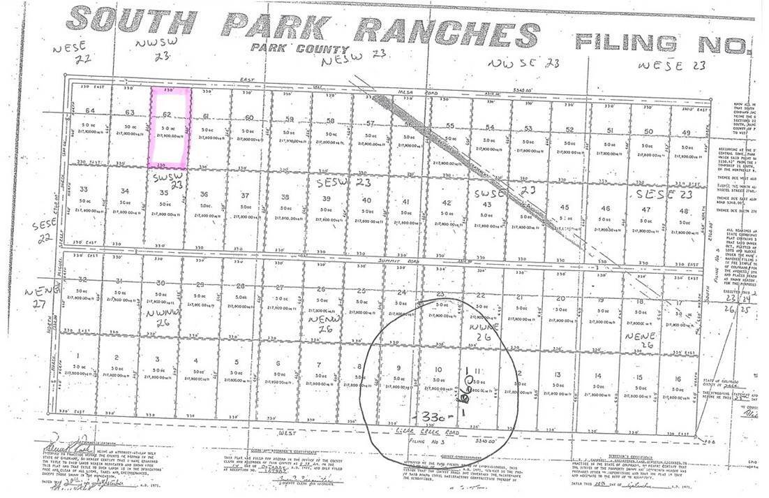4. Land for Sale at 5186 Mesa Road Hartsel, Colorado 80449 United States