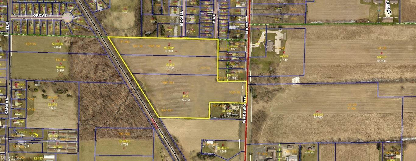 Land for Sale at Wadsworth Road Orrville, Ohio 44667 United States