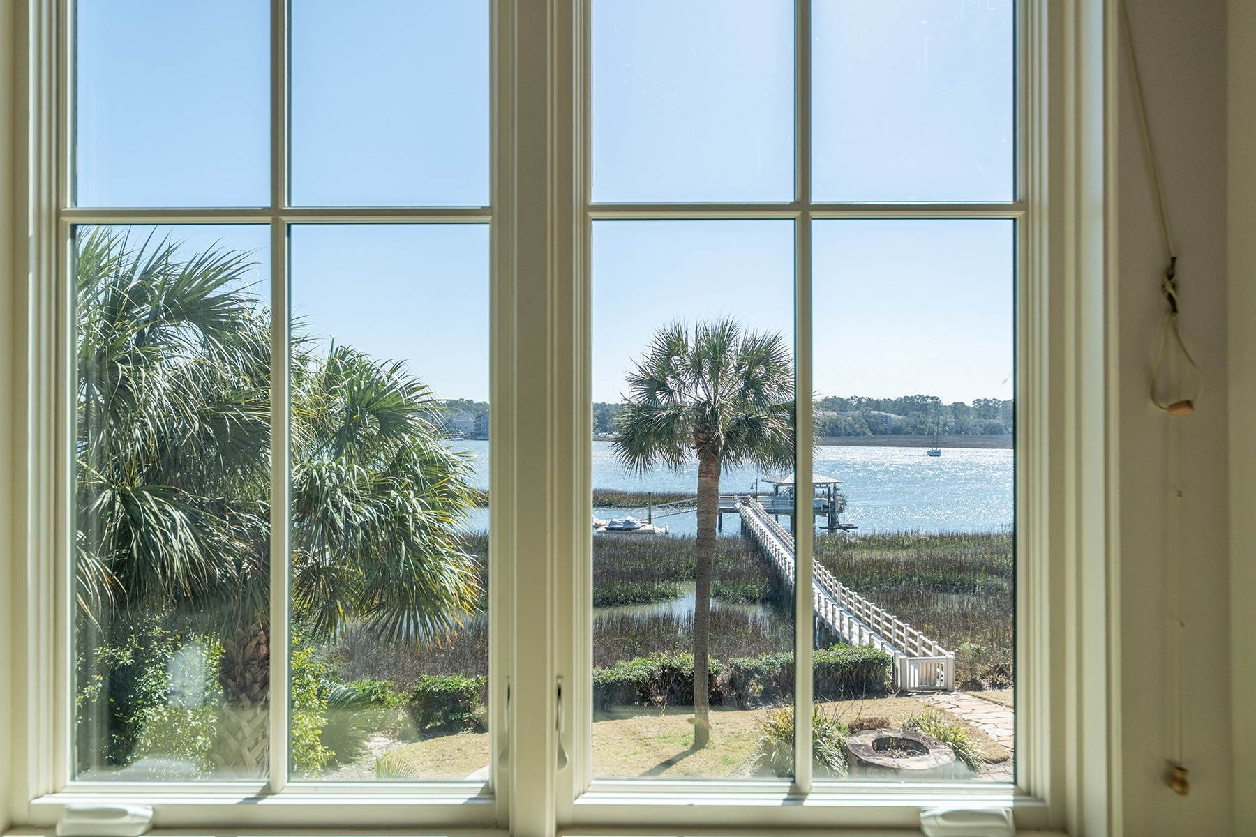 34. Single Family Homes for Sale at Widewater Waterfront Luxury 30 Widewater Road Hilton Head Island, South Carolina 29926 United States
