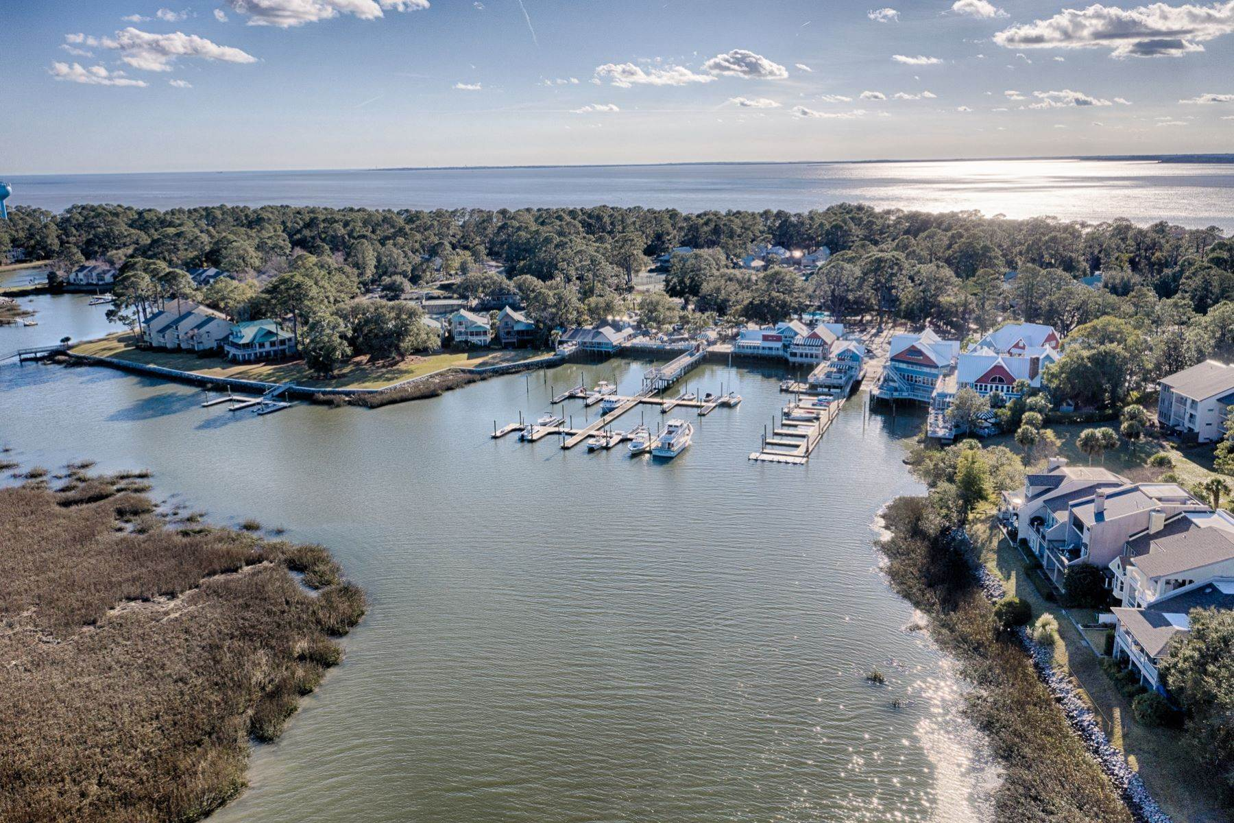 46. Single Family Homes for Sale at 12 Portside Drive Hilton Head Island, South Carolina 29928 United States