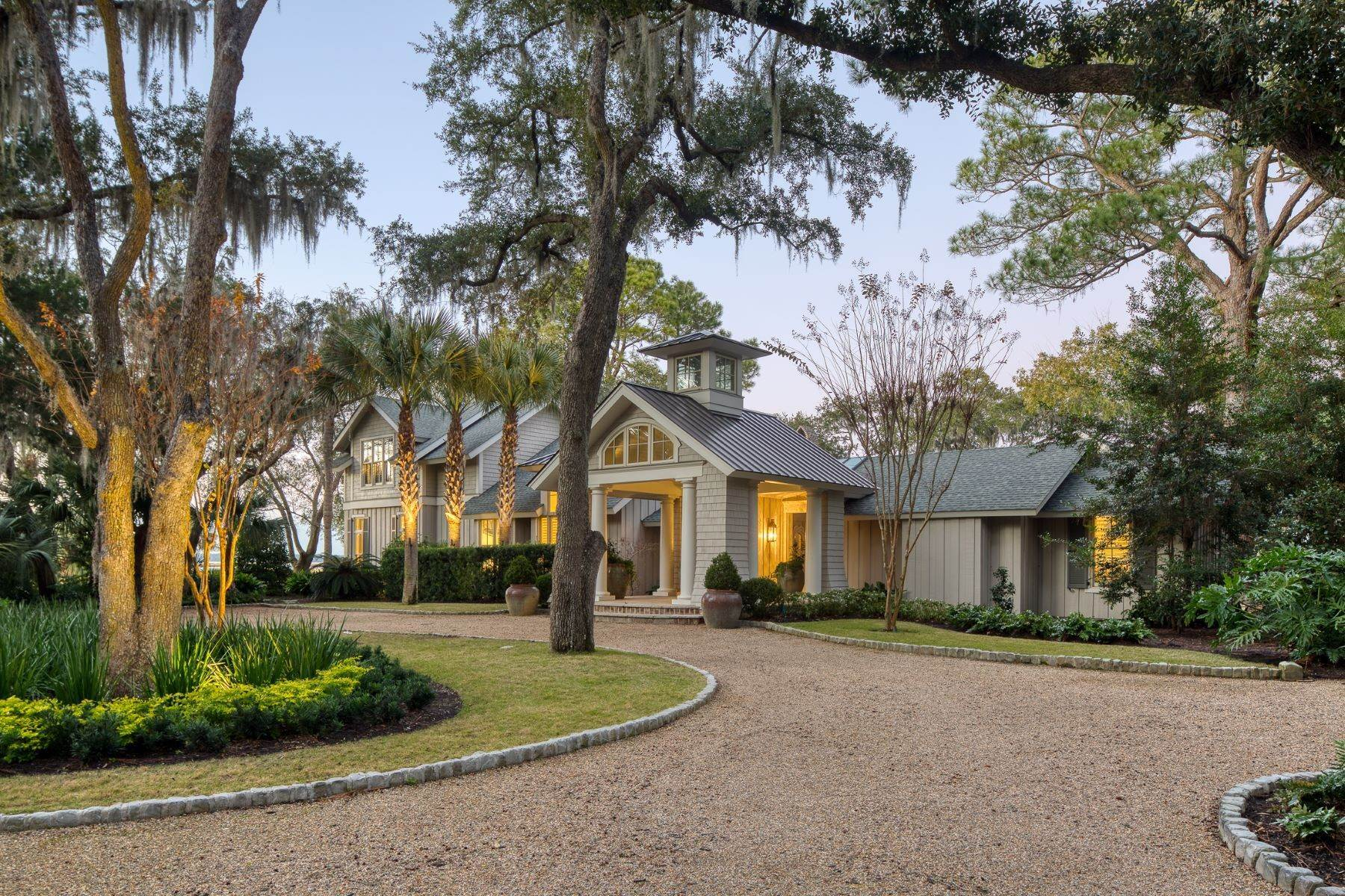 Single Family Homes for Sale at Premier Waterfront 71 North Calibogue Cay Hilton Head Island, South Carolina 29928 United States