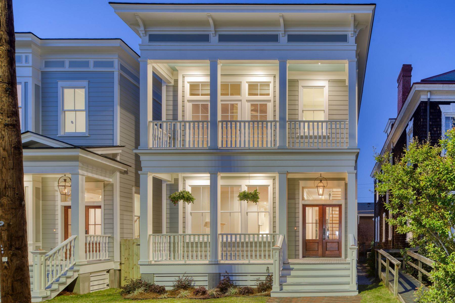3. Single Family Homes for Sale at Incredible New Construction Home Located In The Starland District 118 E 36th Street Savannah, Georgia 31401 United States