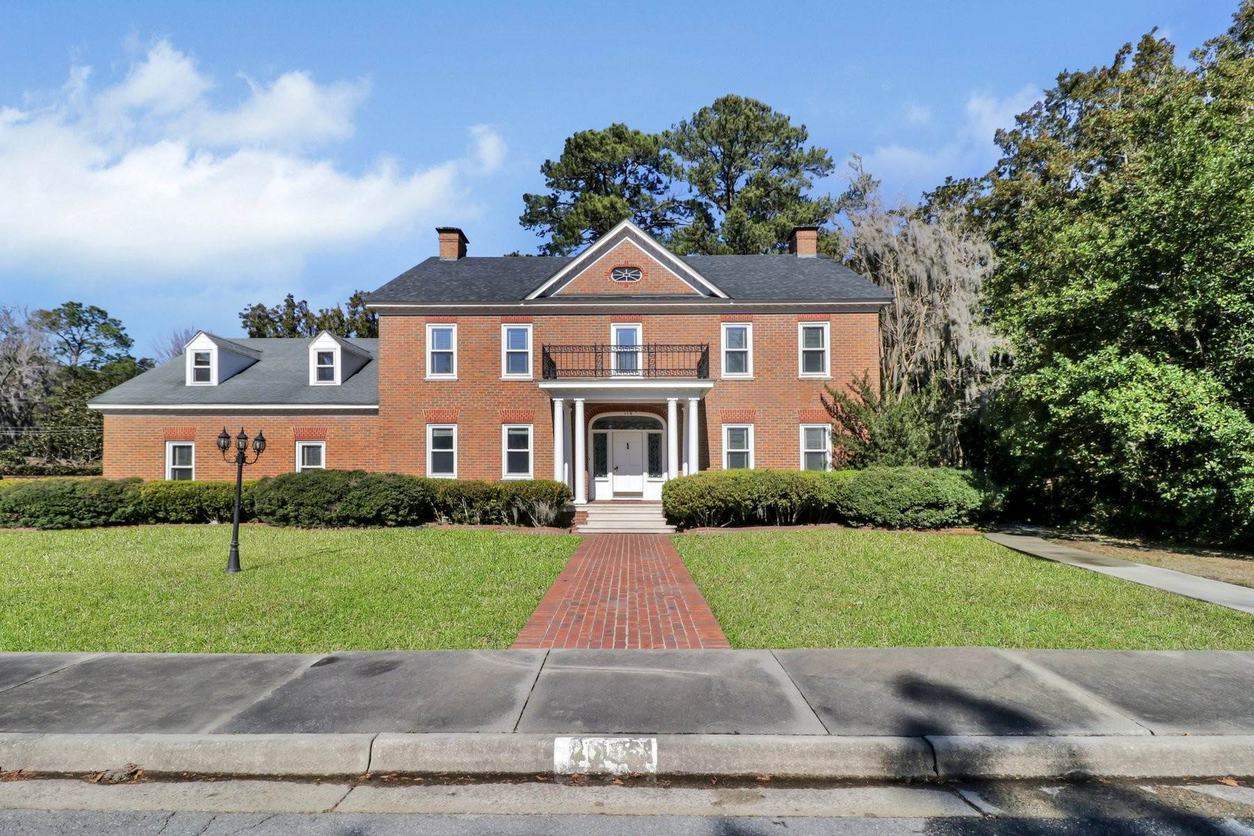 Single Family Homes for Sale at Lovely Traditional Brick Home In Habersham Woods 116 McLaws Street Savannah, Georgia 31405 United States