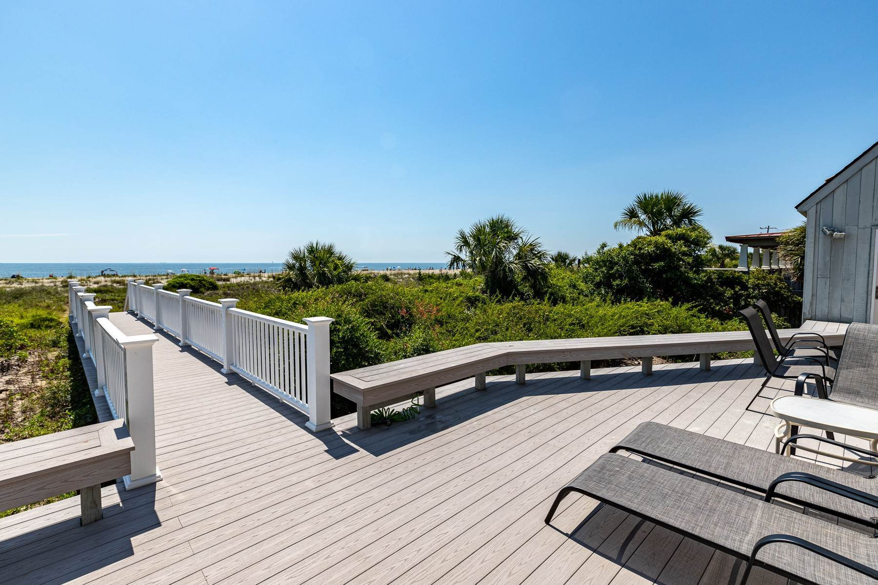 2. Single Family Homes for Sale at 3300 SF Oceanfront Home on Tybee Island 3 Oceanview Court Tybee Island, Georgia 31328 United States