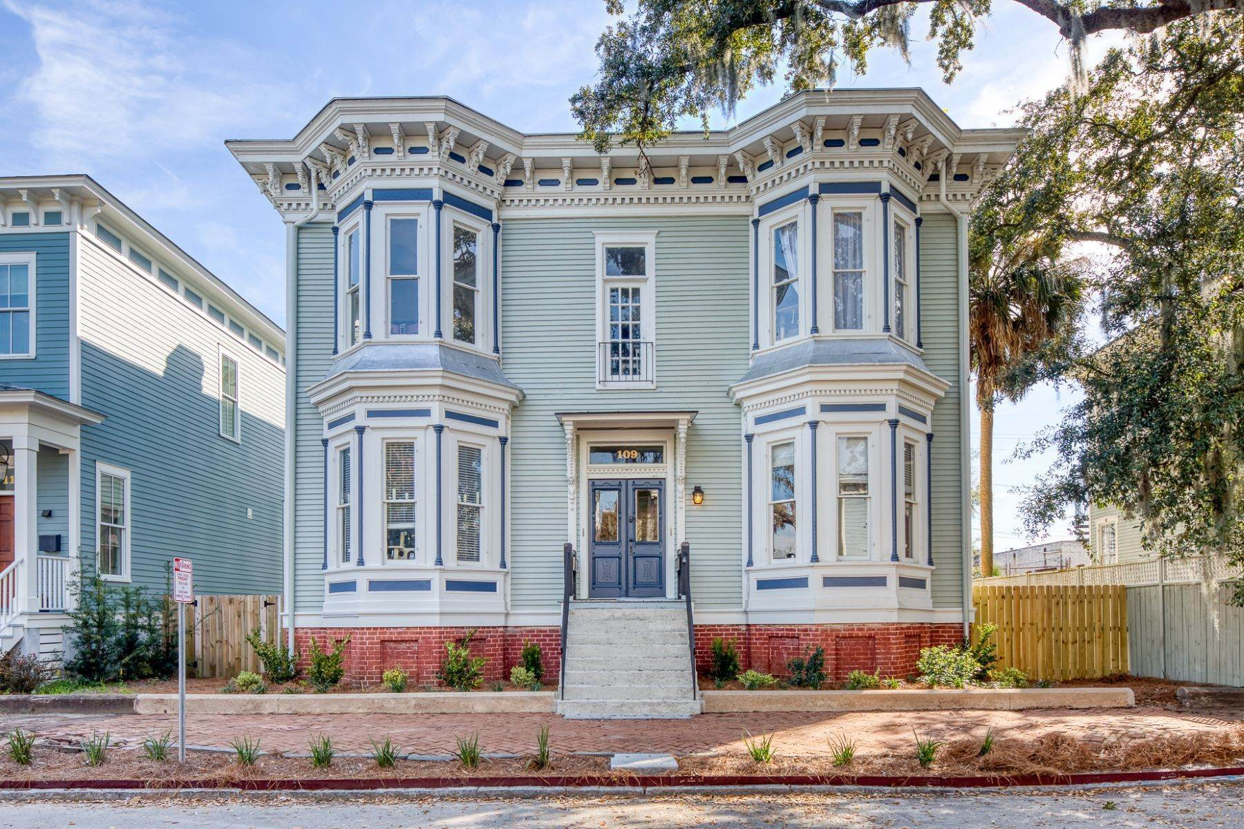 Property for Sale at Stunning Six Unit Victorian Apartment Building Near Forsyth Park 109 E Duffy Street Savannah, Georgia 31401 United States