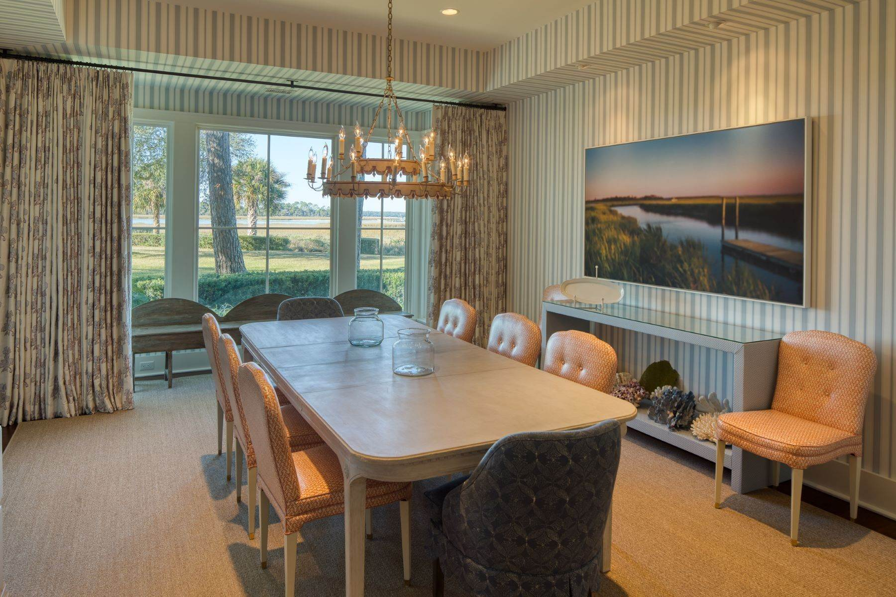 12. Single Family Homes for Sale at Premier Waterfront 71 North Calibogue Cay Hilton Head Island, South Carolina 29928 United States