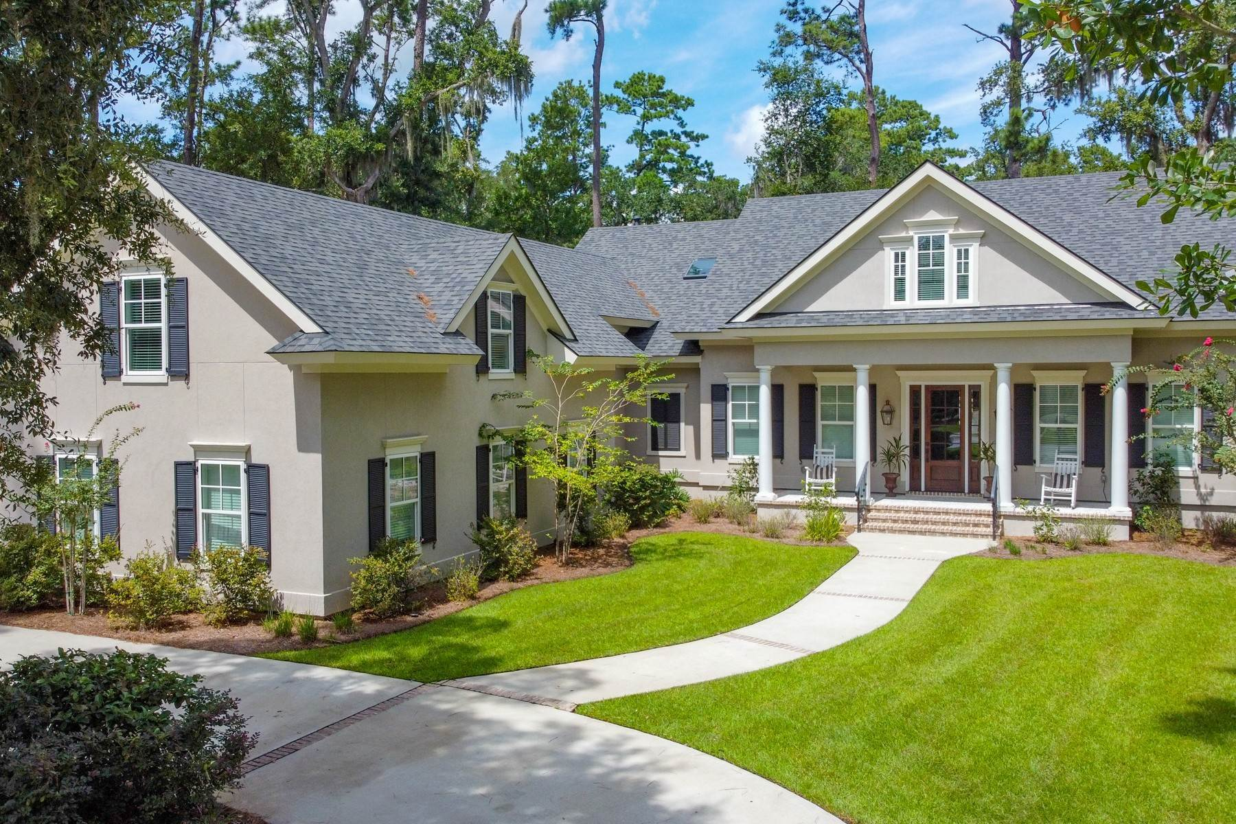 49. Single Family Homes for Sale at 73 Waterway Drive Skidaway Island, Georgia 31411 United States