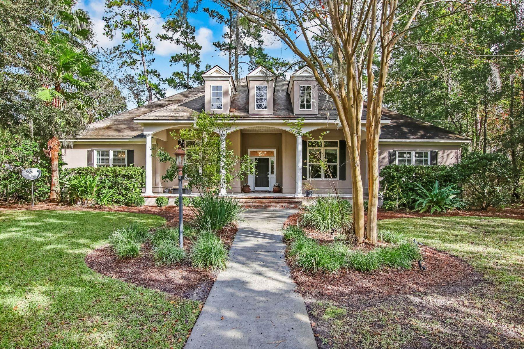 Single Family Homes for Sale at Elegant Lowcountry Home on Dutch Island 102 Hedge Nettle Crossing Savannah, Georgia 31406 United States