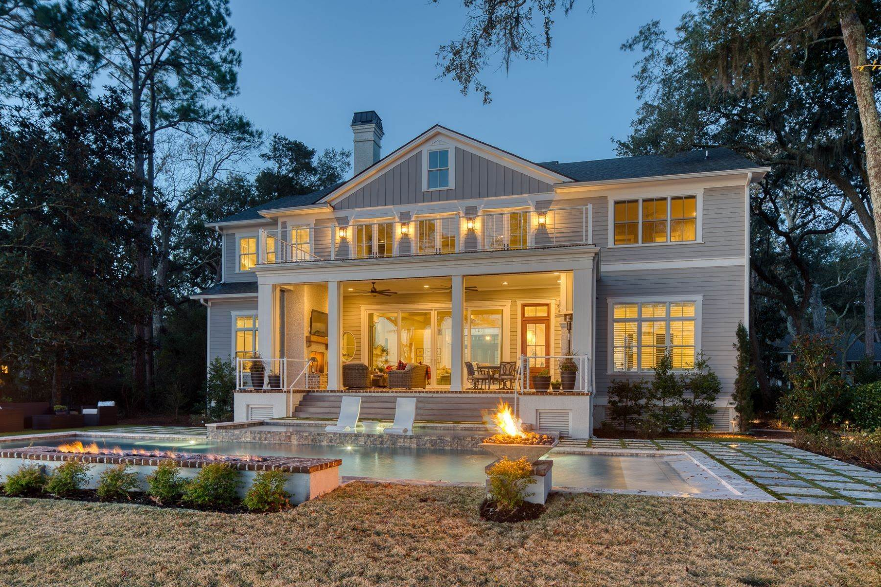 Single Family Homes for Sale at Nearly New Views of Port Royal Sound 25 China Cockle Way Hilton Head Island, South Carolina 29926 United States