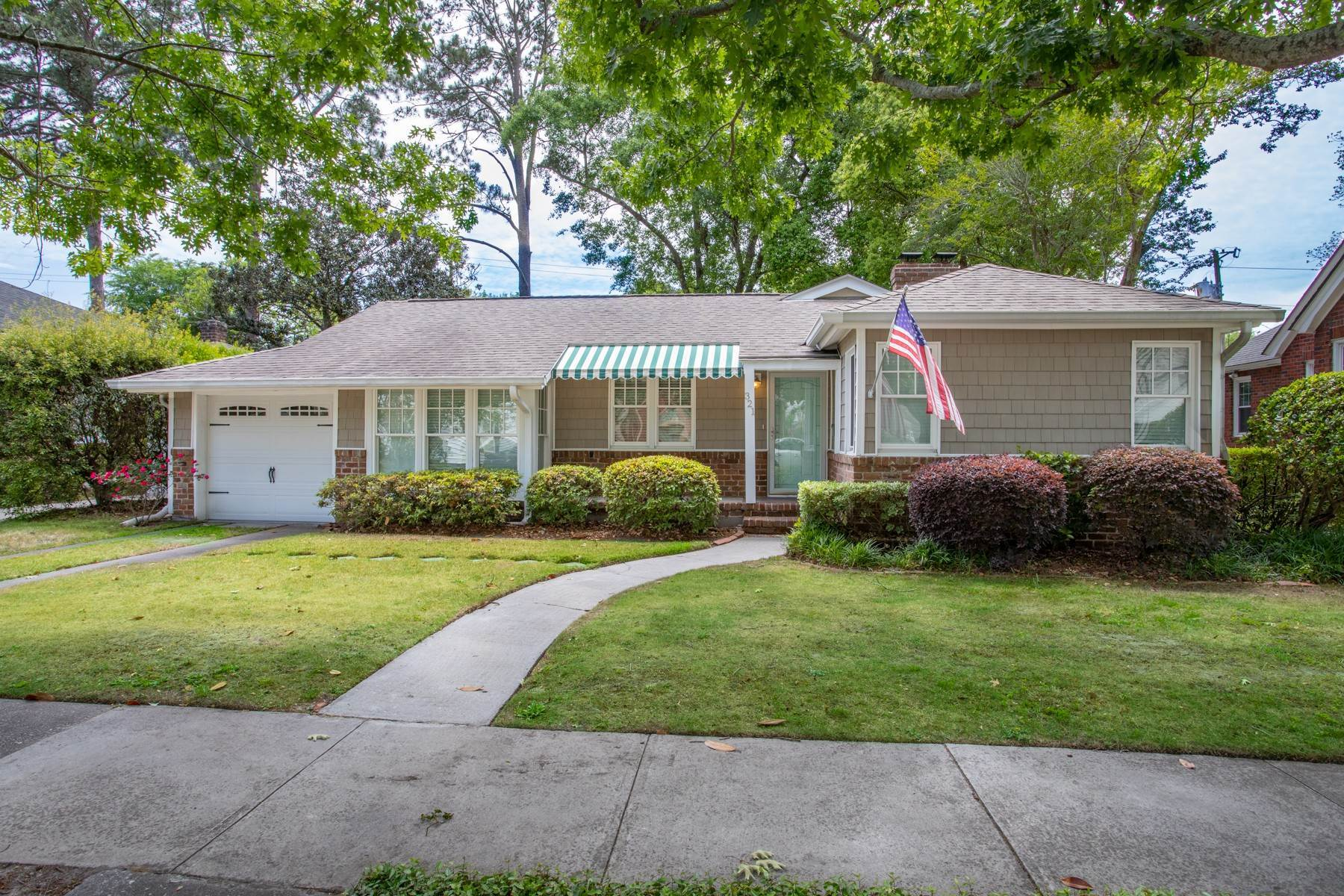 Single Family Homes for Sale at Fabulous Bungalow In Ardsley Park 321 E 52nd Street Savannah, Georgia 31405 United States