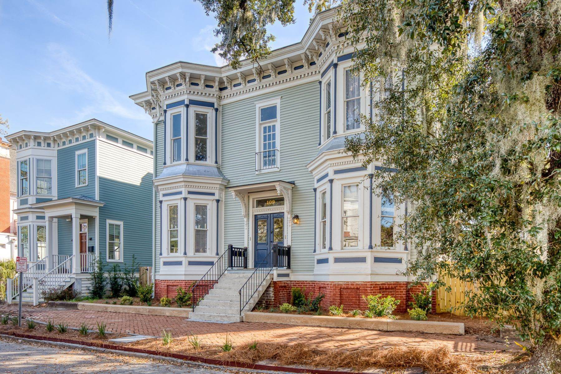 2. Property for Sale at Stunning Six Unit Victorian Apartment Building Near Forsyth Park 109 E Duffy Street Savannah, Georgia 31401 United States