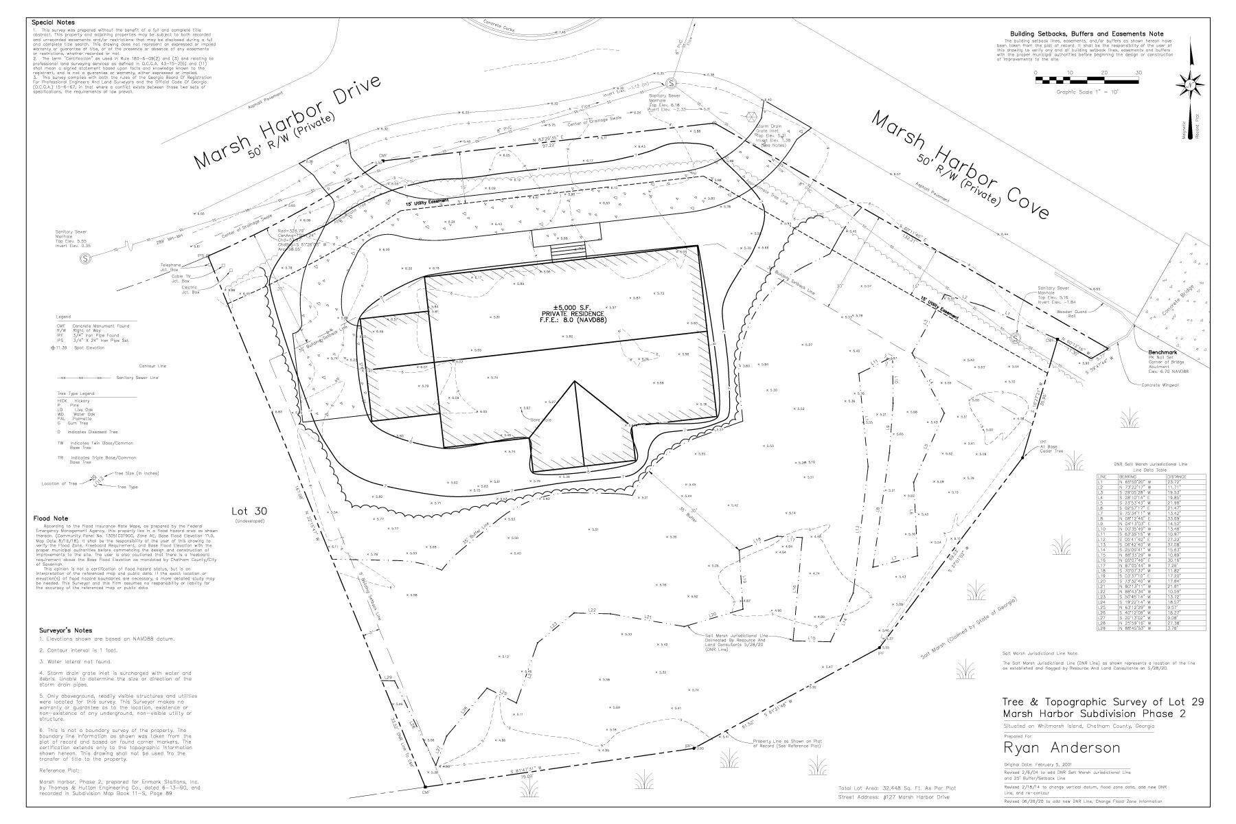7. Land for Sale at Superior Lot with Eastern Marsh Views in Marsh Harbor on Whitemarsh Island 127 Marsh Harbor Drive Savannah, Georgia 31410 United States