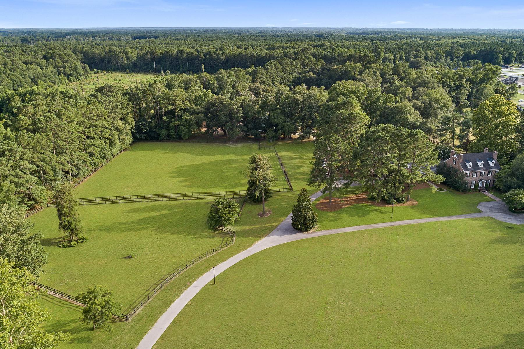 3. Farm and Ranch Properties for Sale at Private Equestrian Estate on 26+ acres 695 Honey Ridge Guyton, Georgia 31312 United States