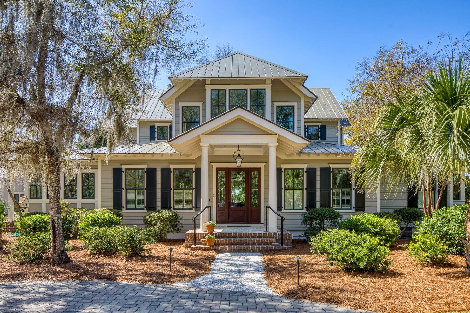 Single Family Homes for Sale at Peaceful Private Retreat 11 Dutch House Circle Bluffton, South Carolina 29910 United States