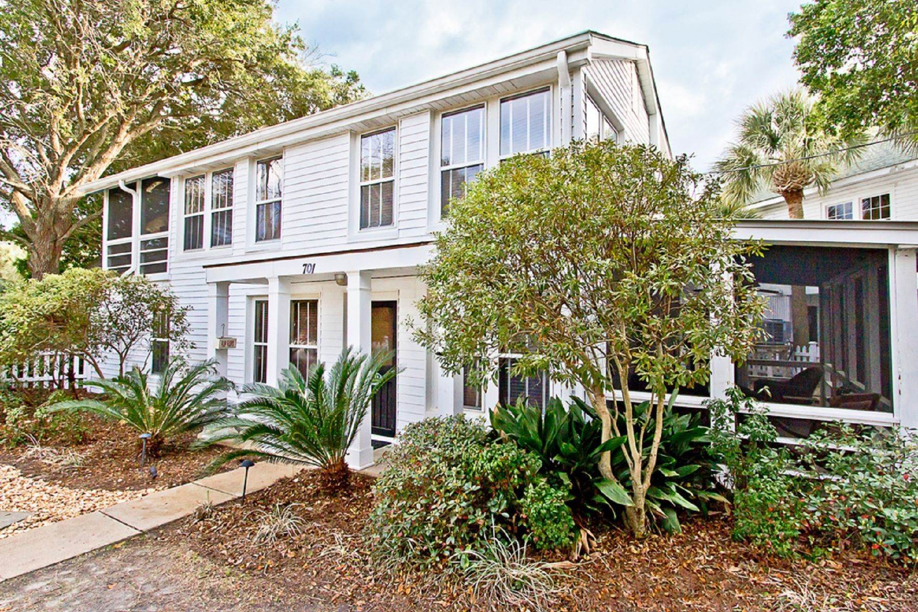 Single Family Homes for Sale at The Ultimate Tybee Home With In-Ground Pool And Dock On Tidal Creek 701 13th Street Tybee Island, Georgia 31328 United States